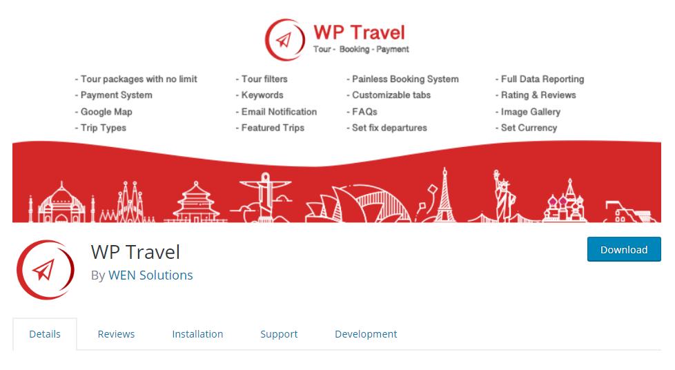 5+ Best Free Travel Agency WordPress Plugins 2019