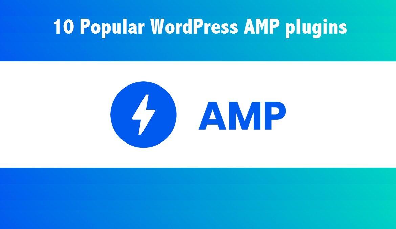 WordPress AMP plugins