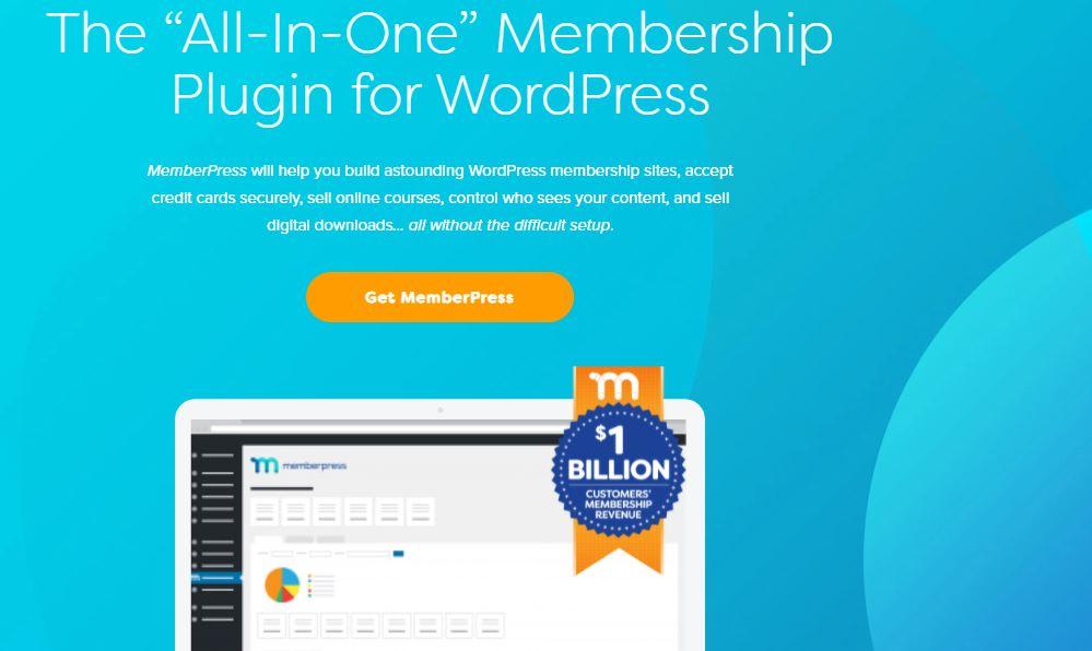 MemberPress: Course selling website