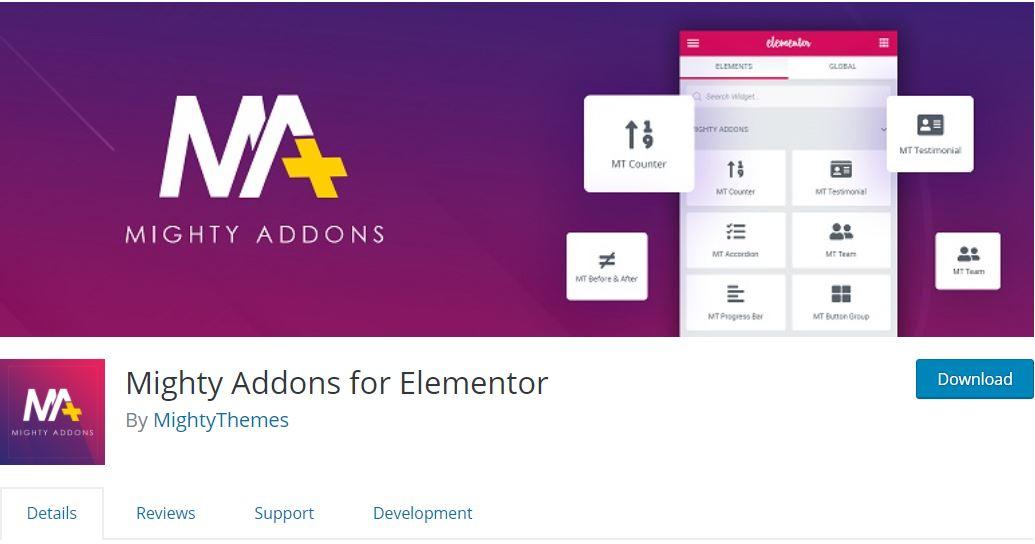 elementor addons extension